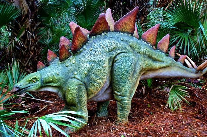 """Stegosaurus from """"Dinosaurs: Unextinct at the L.A. Zoo"""""""