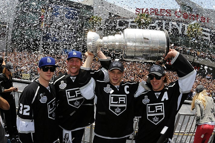 L.A. Kings 2012 Victory Parade at STAPLES Center
