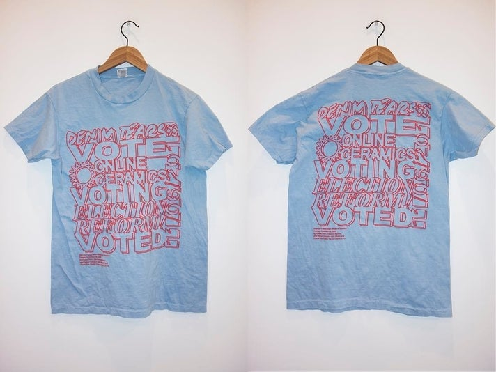 Election Reform! + Denim Tears t-shirts at ICA LA