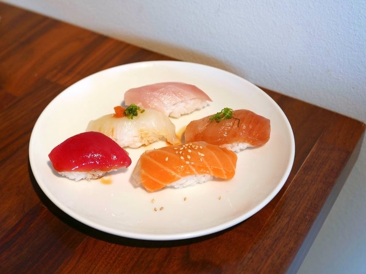 Lunch Special at Sushi Sasabune in Glendale