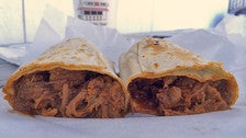Red & Beef Burrito at Lupe's #2