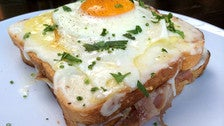 Croque Madame at Republique