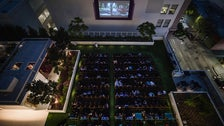 Rooftop Cinema Club at LEVEL in Downtown L.A.