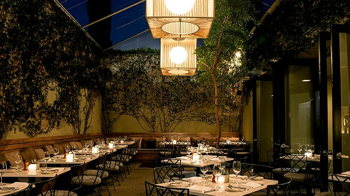 Patio at Lucques