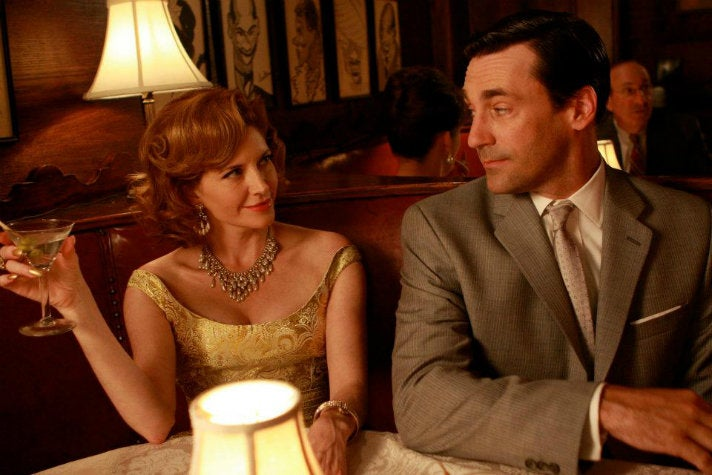 "Don and Bobbie at Sardi's from ""Mad Men"" Season Two"