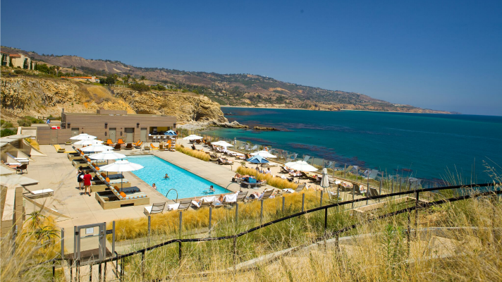 Terranea Resort pool area