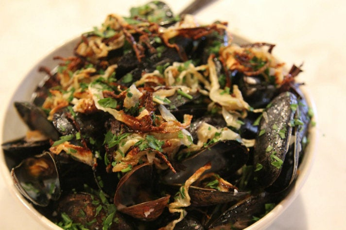 Mussels at Black Market Liquor Bar
