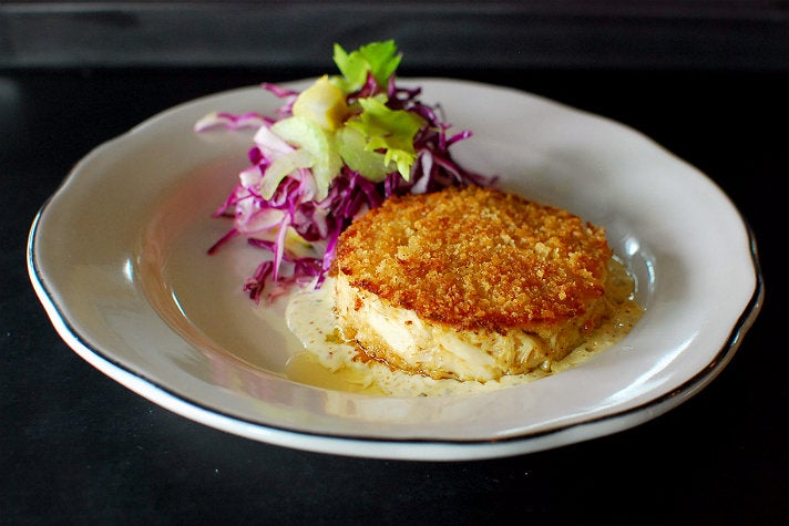 Crab cake at Fishing With Dynamite