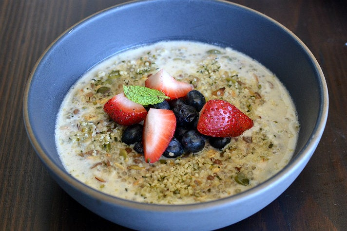 Hemp Vanilla Porridge at Leona