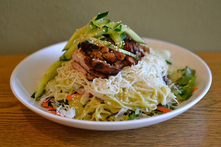 Cold Noodle Salad at Ohana BBQ